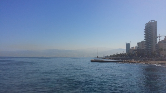 Sea, mountains, city. Absolutely breathtaking.